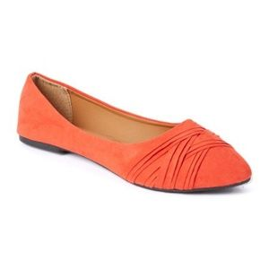 epicsteps Shoes - epicstep flats - orange/red 7
